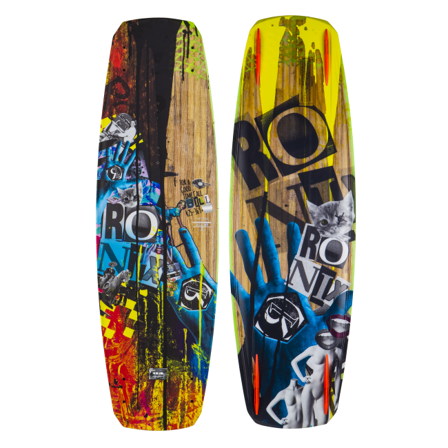 RONIX Bill ATR -Mute Core- Splattered Everything 140cm