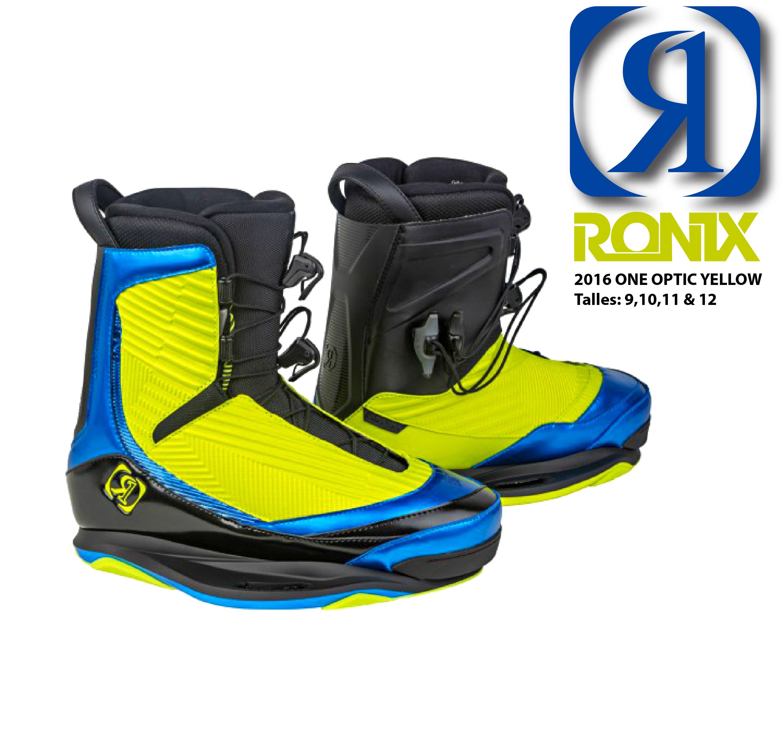 2016 RONIX One Yellow Optic