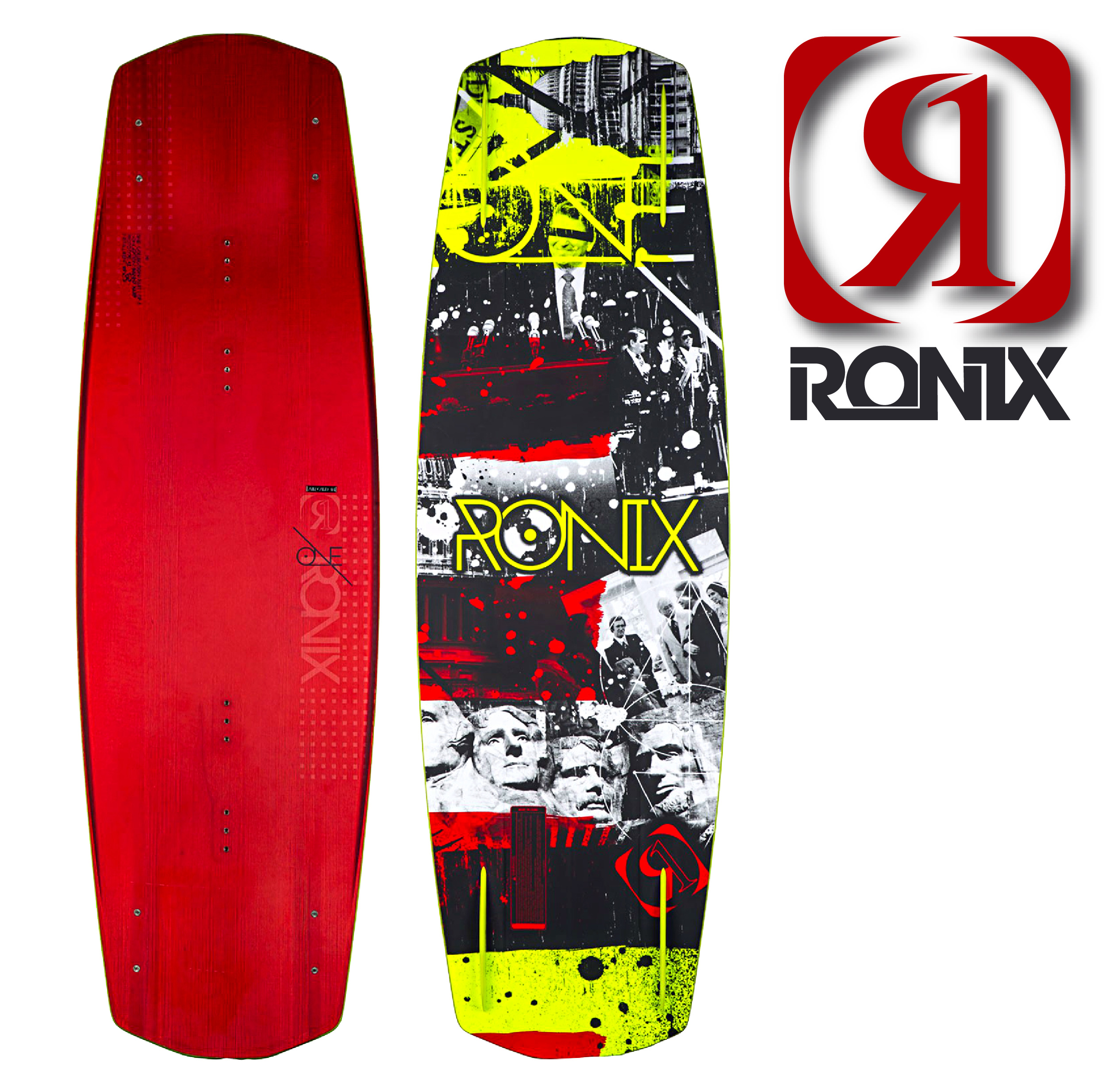 Ronix One ATR Carbon Anodized Red Frosting 138cm