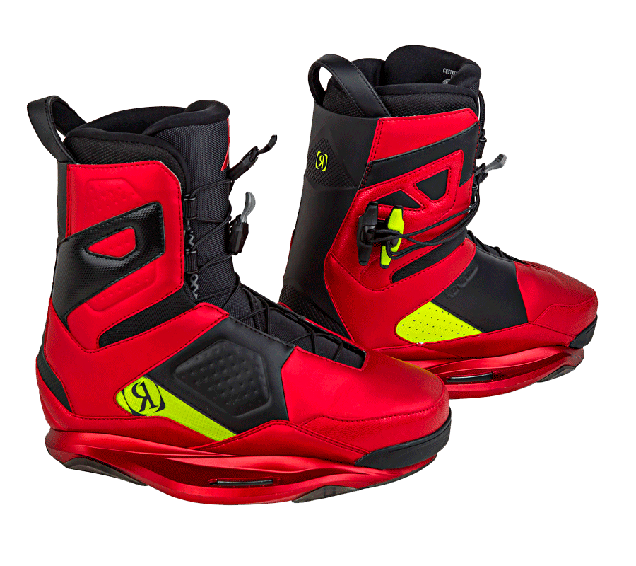 Bota de Wakeboard Ronix One Anodized Cherries/Nuclear Yellow